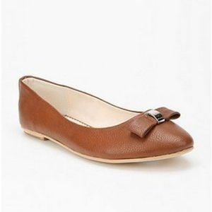 UO KIMCHI BLUE Brown Buckle Flats